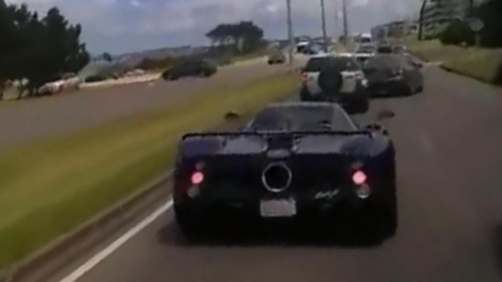 Foto Accidente Pagani Zonda