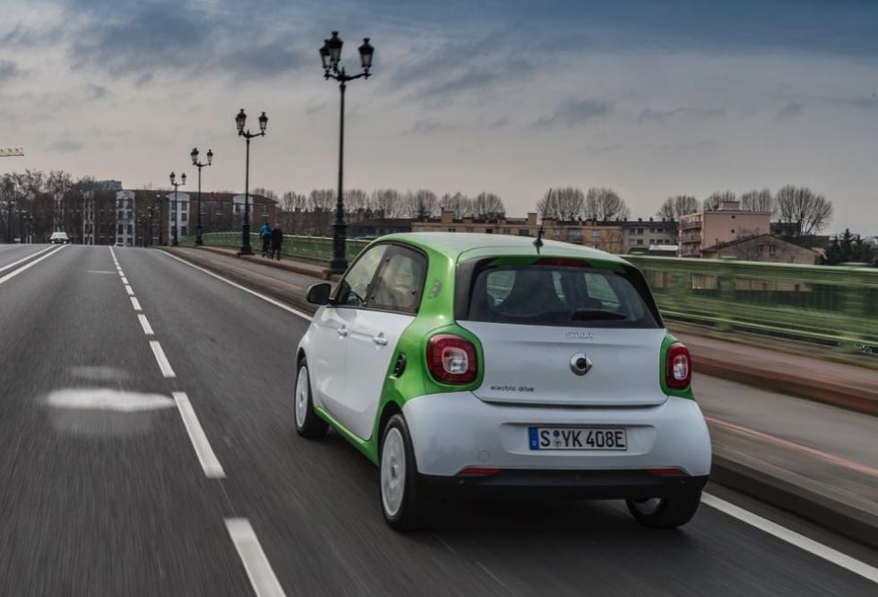 Smart fortwo electric drive 2017 posterior