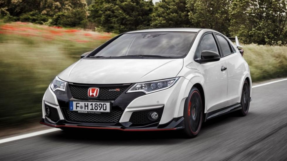 Honda Civic Type-R frontal