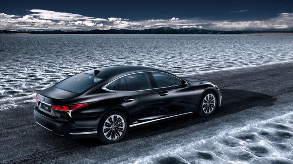 Lexus LS500H 2017 hibrido lujo coche