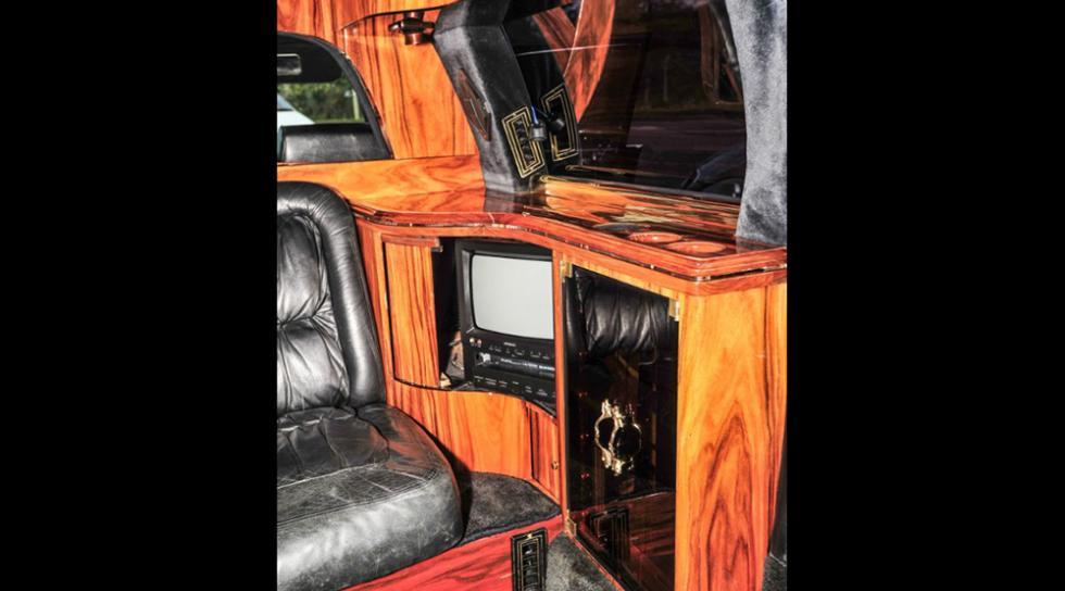 La limusina de Cadillac diseñada por Donald Trump