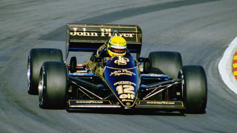 Lotus 98 de Ayrton Senna (1986)