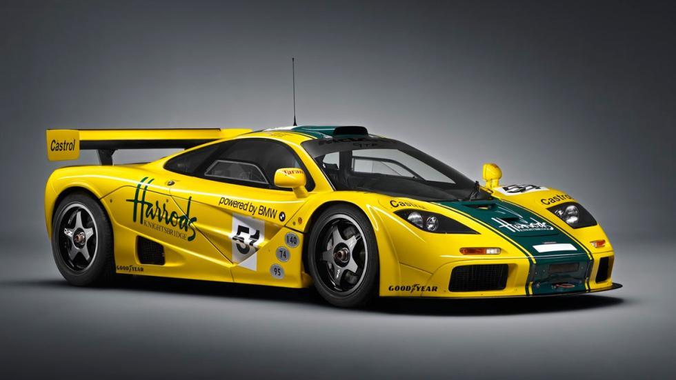 McLaren F1 GTR superdeportivo