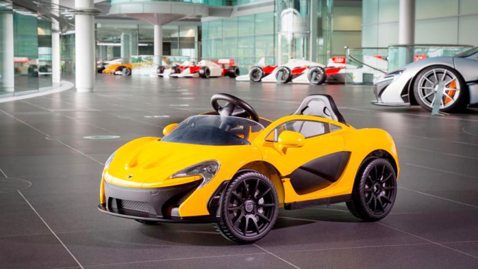 Los mejores coches eléctricos para niños - McLaren P1
