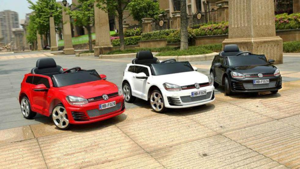 Los mejores coches eléctricos para niños - Volkswagen Golf GTI