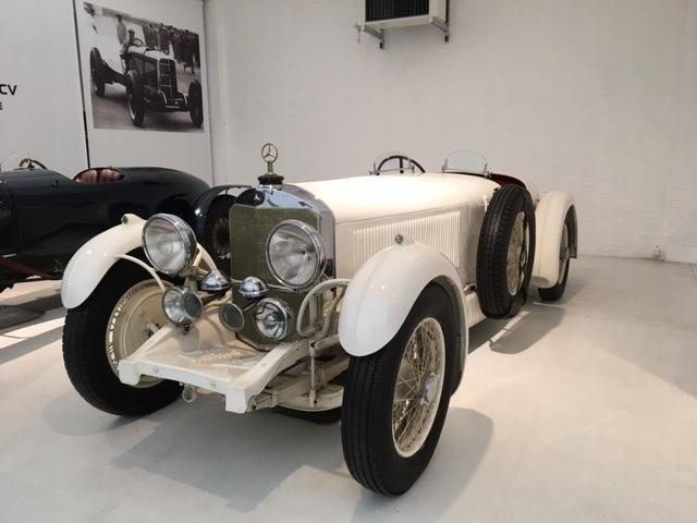 Mercedes-Benz Biplace Sport Museo Mulhouse