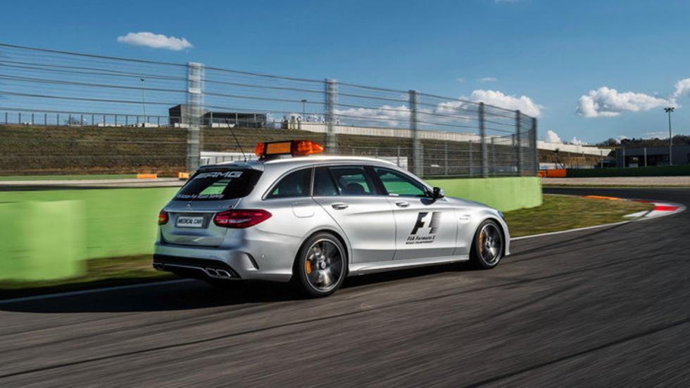 Mercedes-Benz C63 AMG STATE, el coche médico en 2015 y 2016