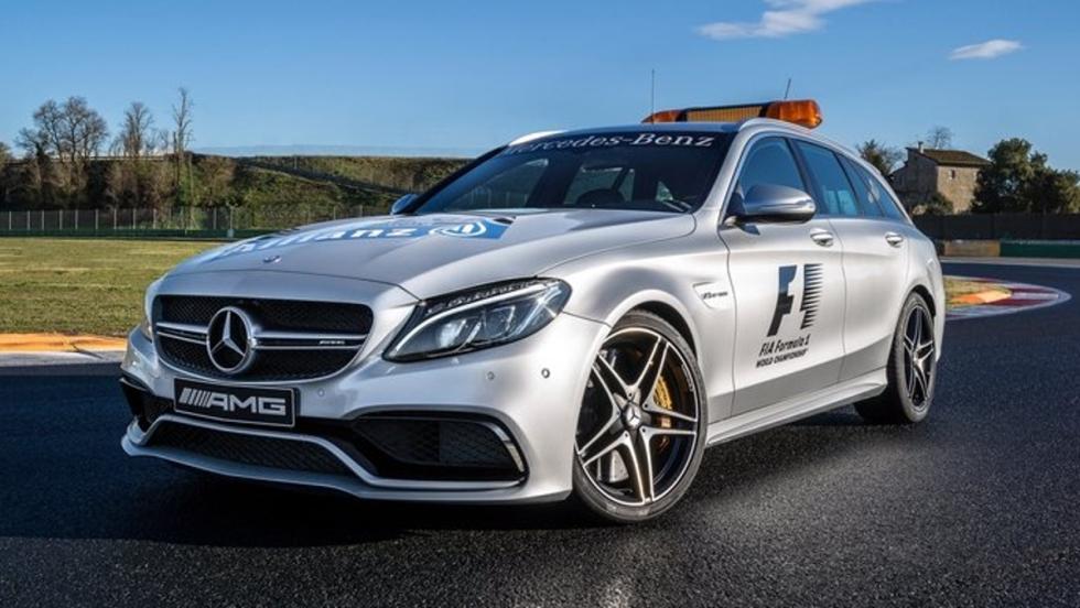 Mercedes-Benz C63 AMG STATE empleado a partir del 2015