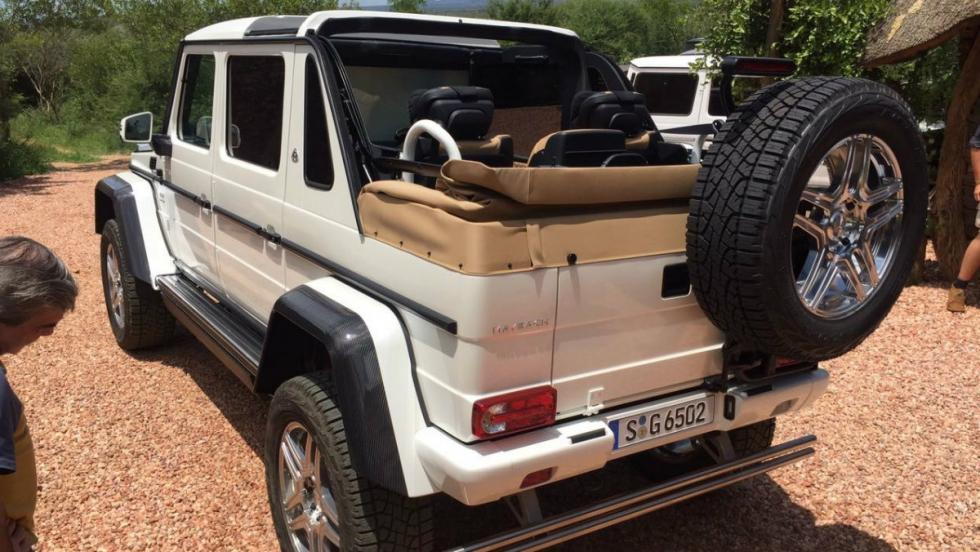Mercedes Maybach G 650 Landaulet