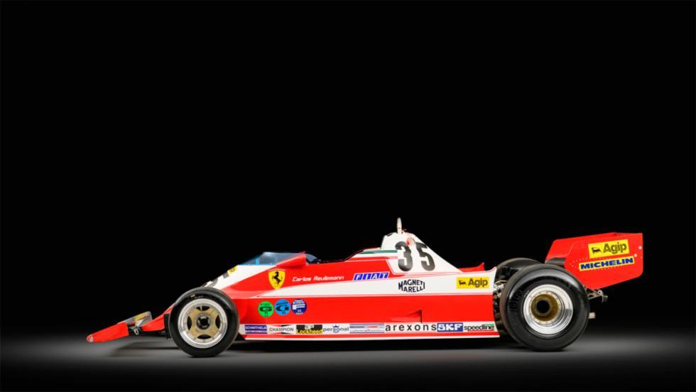 Monoplaza F1 Ferrari años 70 (I)