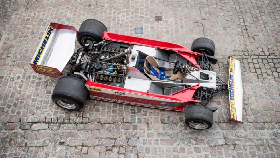 Monoplaza F1 Ferrari años 70 (IX)
