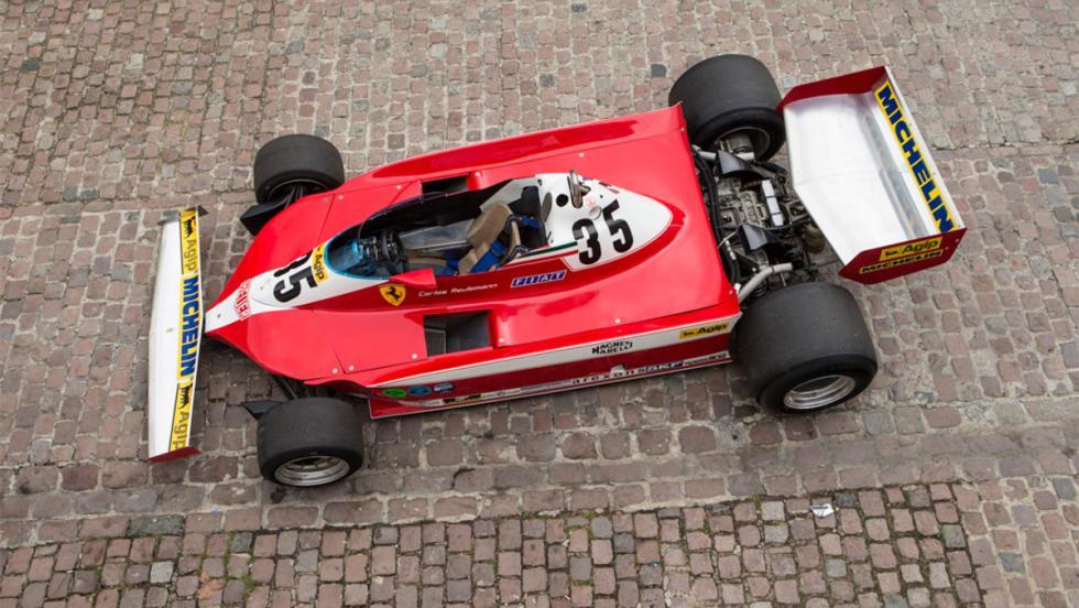Monoplaza F1 Ferrari años 70 (X)