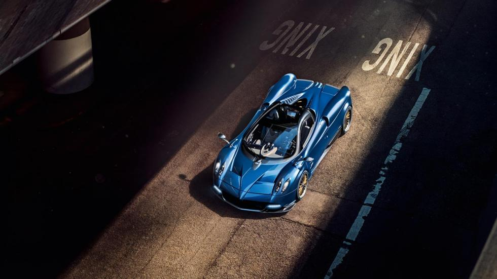 Pagani Huayra Roadster descapotable exclusivo superdeportivo