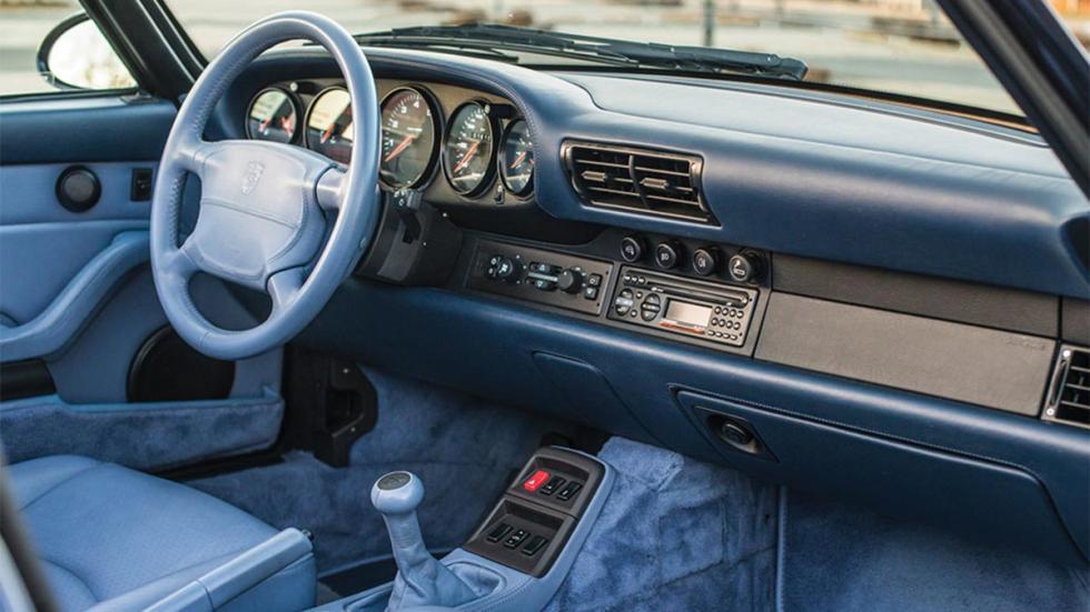 Porsche 993 Turbo Cabrio Retromobile
