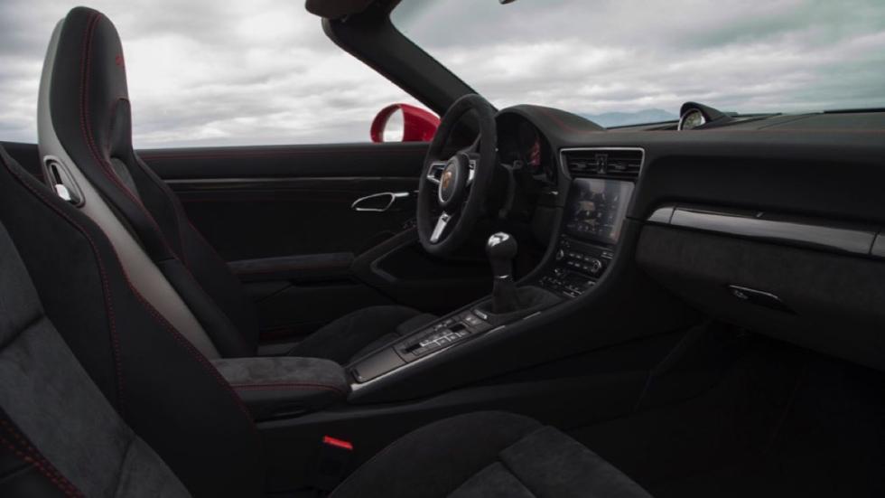 Prueba Porsche 911 Carrera GTS 2017 (interior)