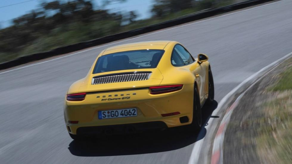 Prueba Porsche 911 Carrera GTS (trasera)
