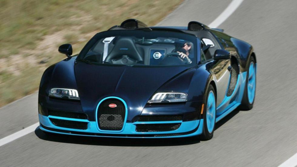 Rivales Pagani Huayra Roadster Bugatti Veyron Vitesse