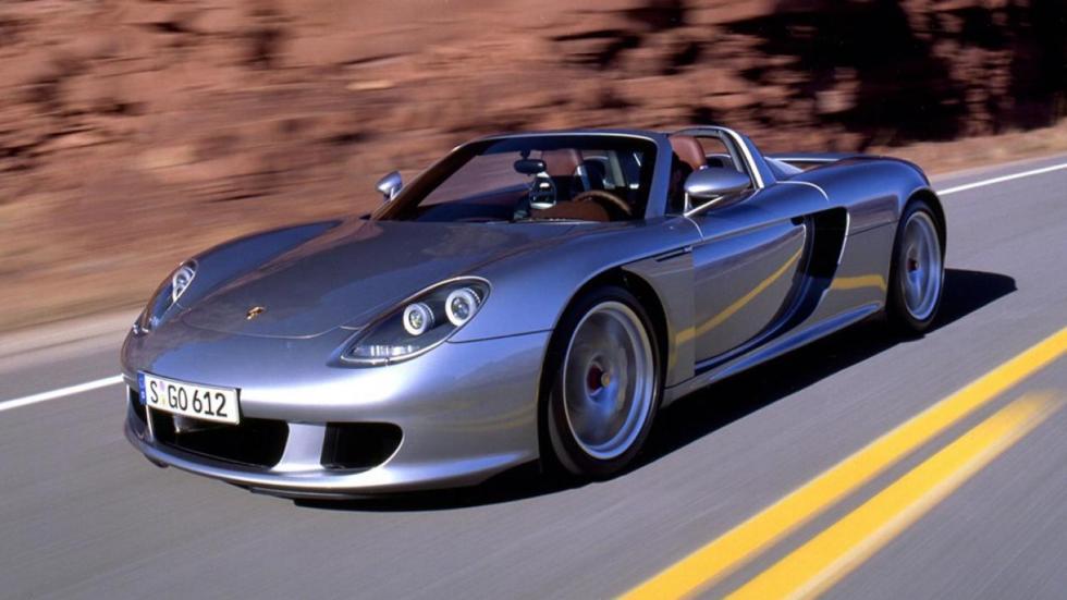 Rivales Pagani Huayra Roadster Porsche Carrera GT