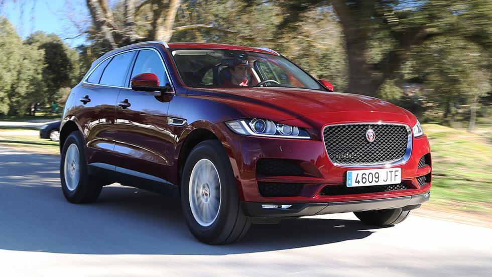 Rivales Range Rover Velar: Jaguar F-Pace (I)