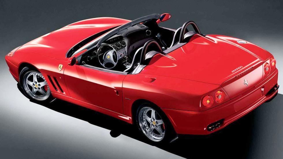¿Y si los coches italianos tuvieran nombres en español? - Ferrari 550 Barchetta Pininfarina