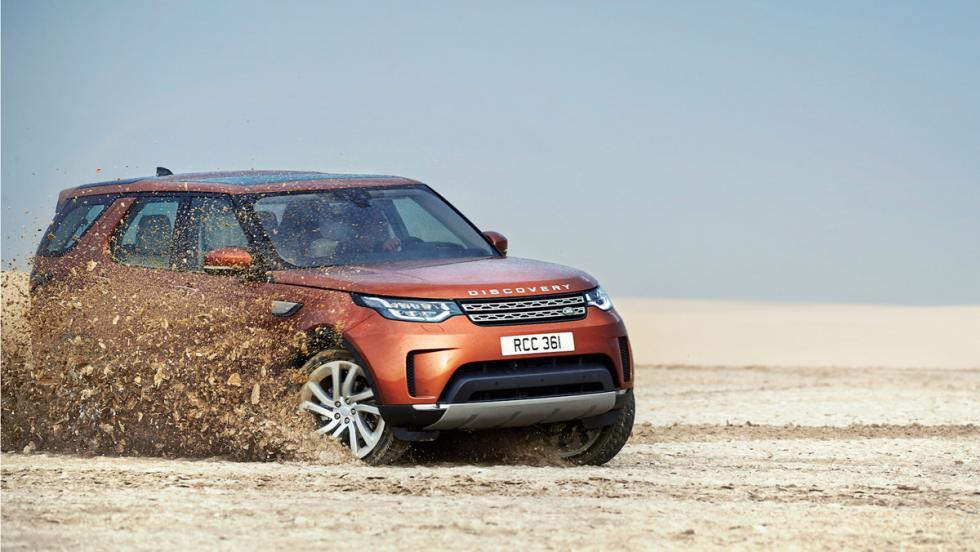 SUV 2017: Land Rover Discovery