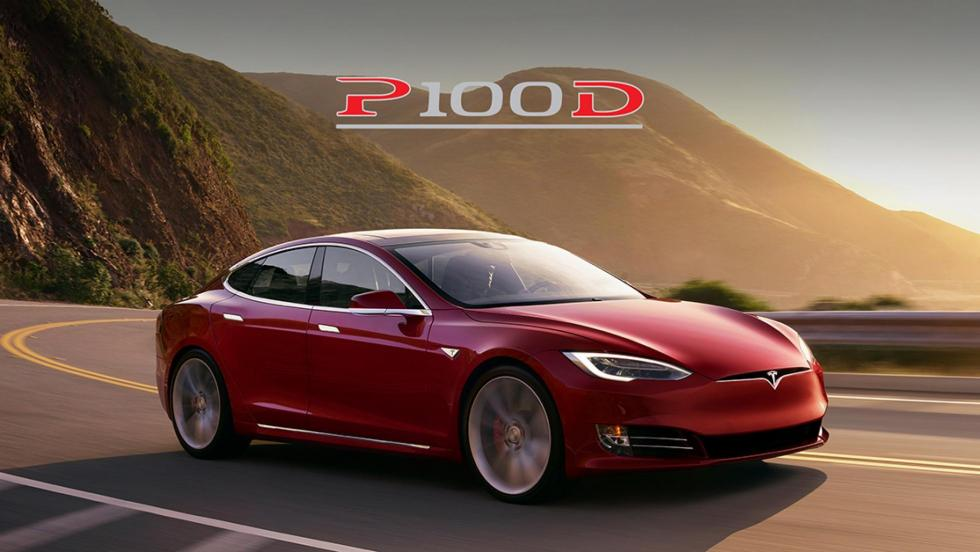 Tesla Model S P100D aceleracion 0 a 160