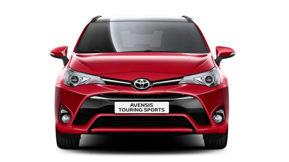 Toyota Avensis 2017 sedan familiar