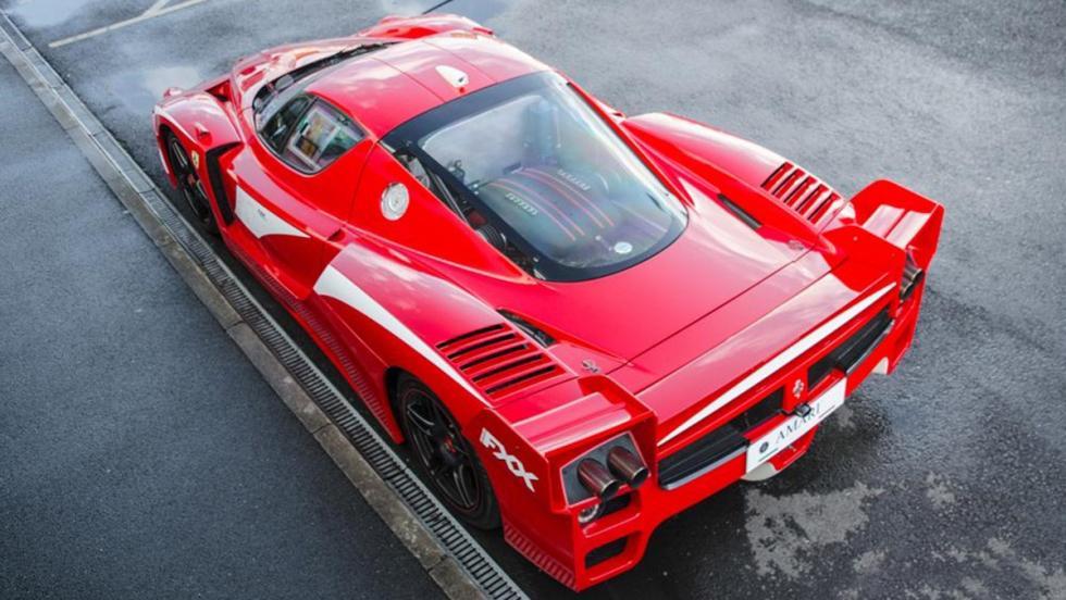 El único Ferrari FXX de calle