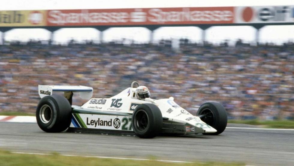 Williams FW07B de 1980