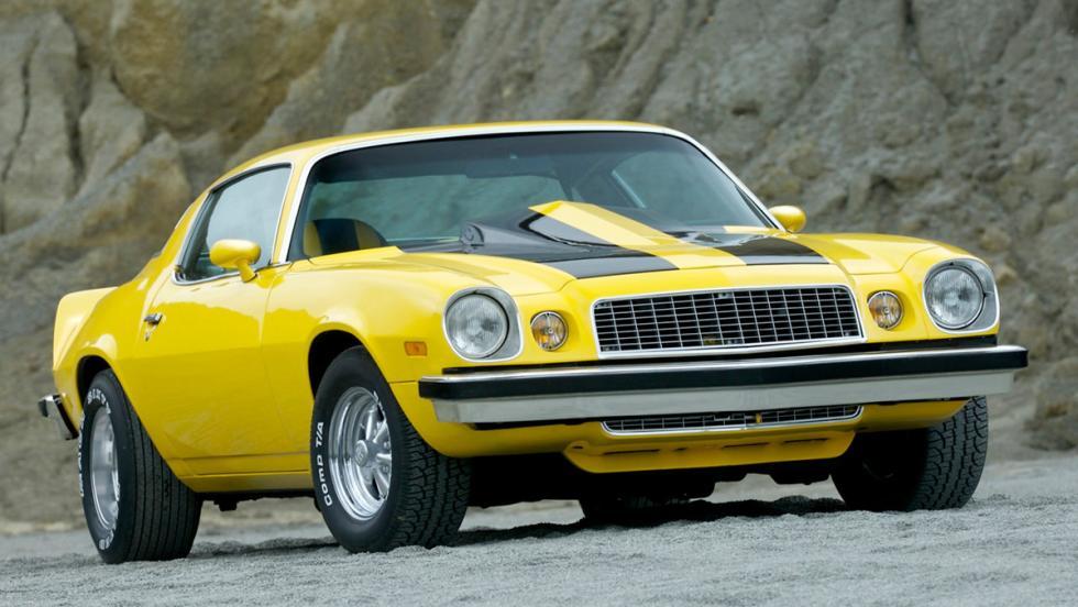 10. Chevrolet Camaro de 1977 - Transformers