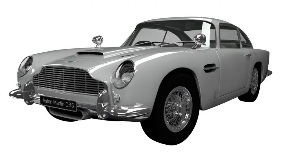 3. Aston Martin DB5 de 1963 - James Bond