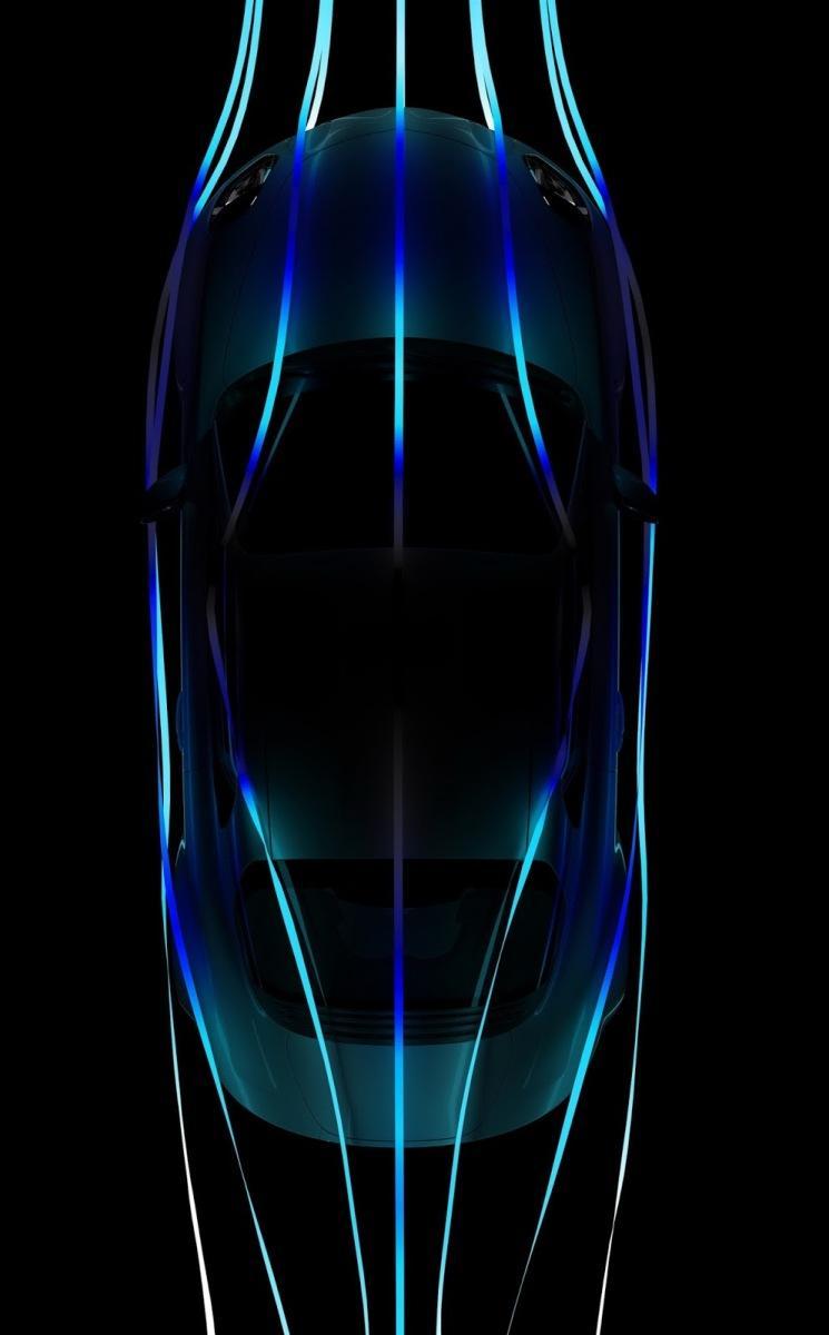 Alpine A110 aerodinámica bajos