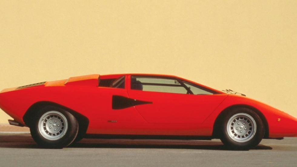 7. Lamborghini Countach LP 4005 de 1980 - Los locos de Cannonball