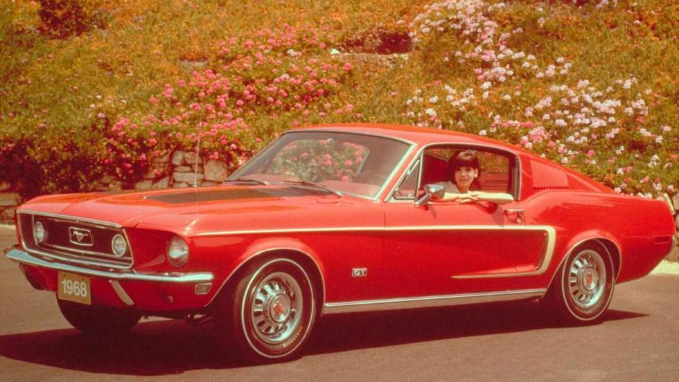 8. Ford Mustang GT 390 Fastback de 1968 - Bullit