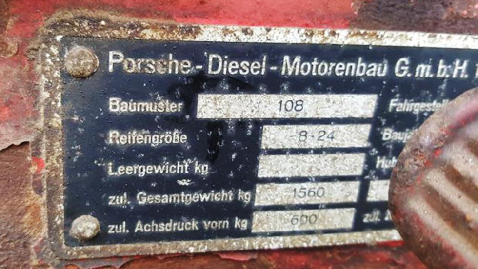Así es el primer Porsche diésel de la Historia