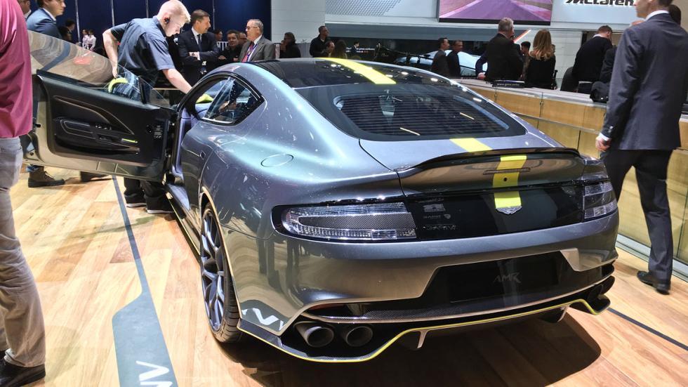 Aston Martin Rapide AMR macarradas Ginebra