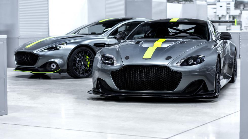 Aston Martin Rapide AMR y Vantage AMR Pro
