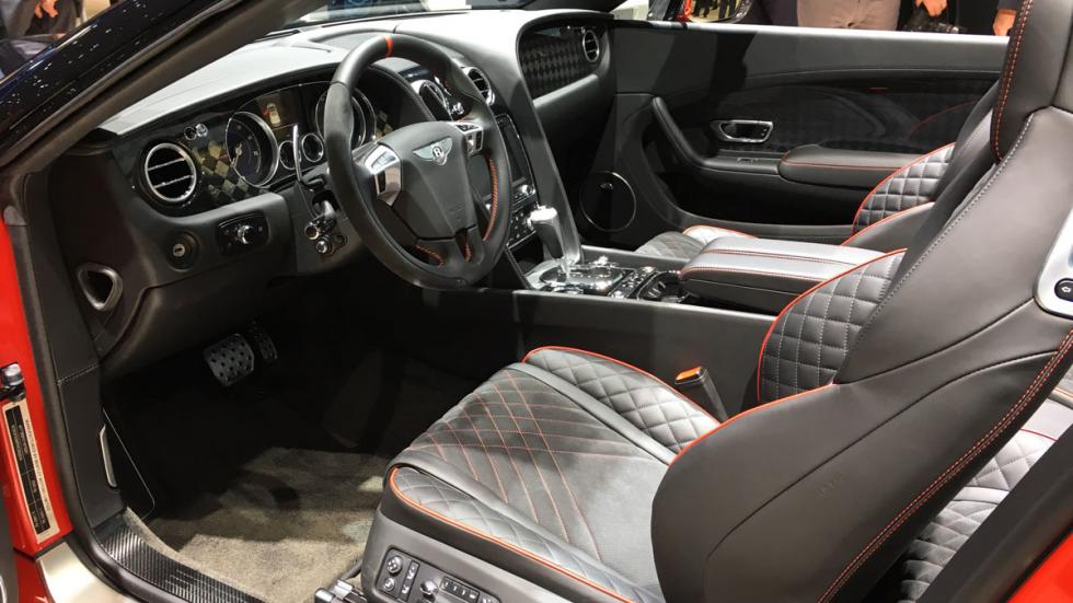Bentley Continental Supersports Convertible Salón de Ginebra 2017
