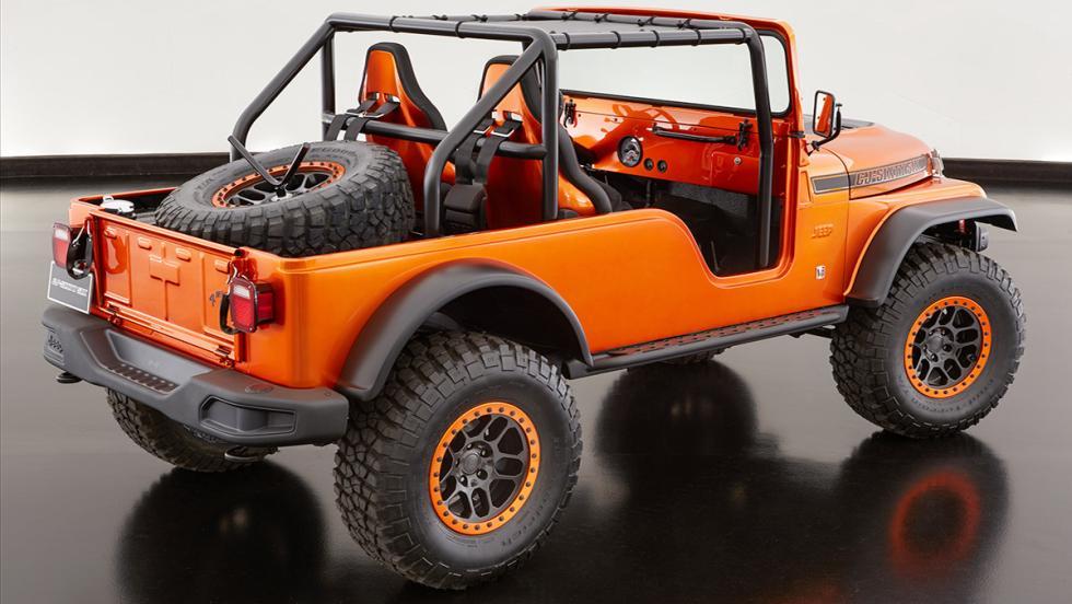 Los brutales concept car de Jeep - Jeep CJ66