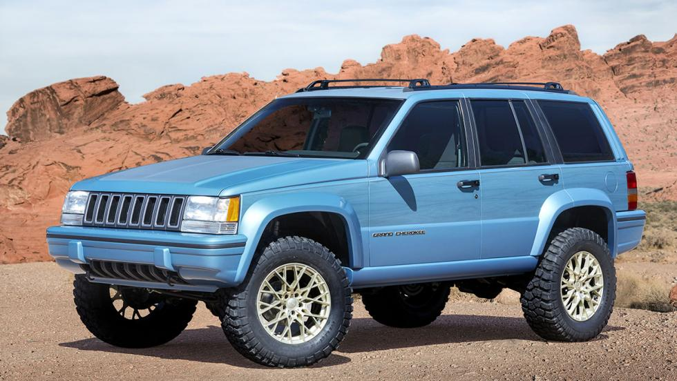 Los brutales concept car de Jeep - Jeep Grand One