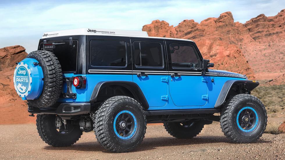Los brutales concept car de Jeep - Jeep Luminator