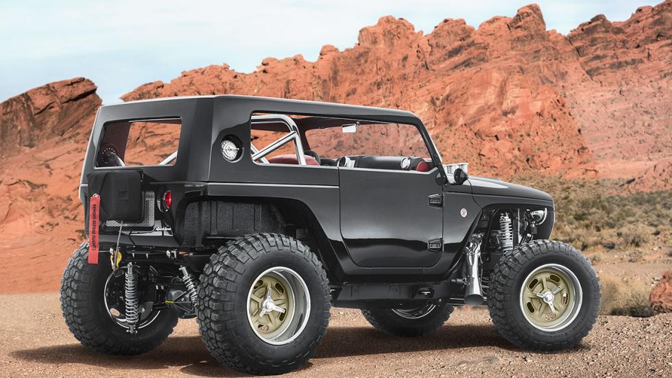 Los brutales concept car de Jeep - Jeep Quicksand