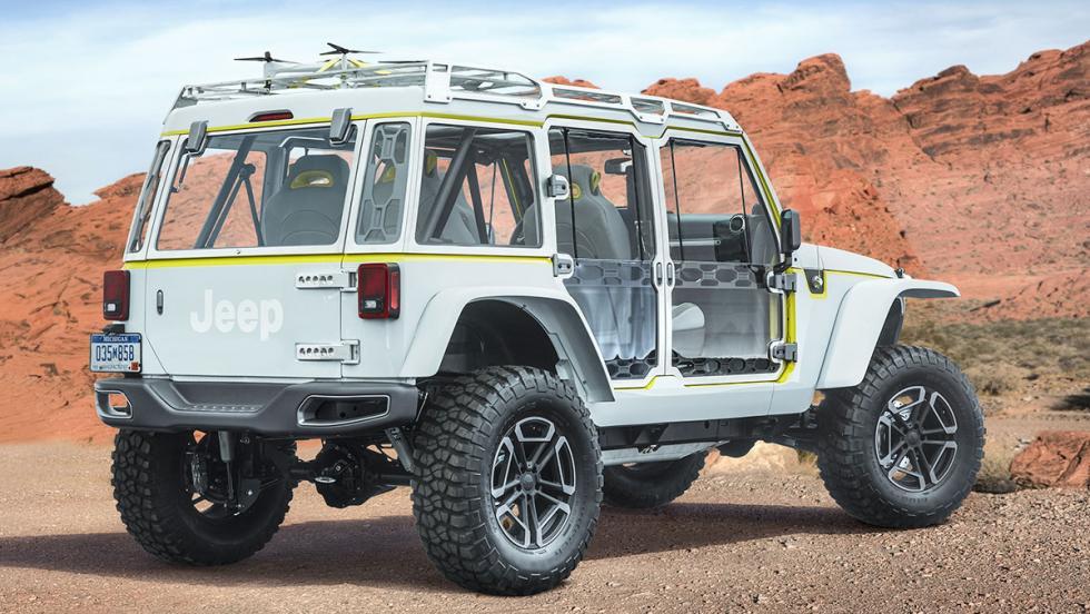 Los brutales concept car de Jeep - Jeep Safari