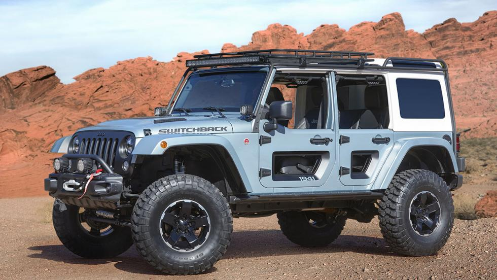 Los brutales concept car de Jeep - Jeep Switchback