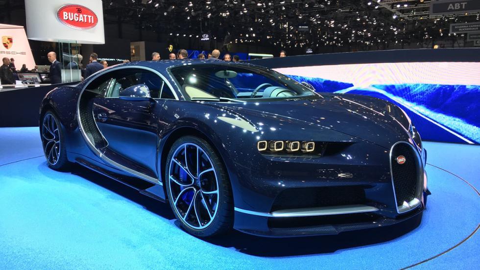 Bugatti Chiron Salón de Ginebra 2017