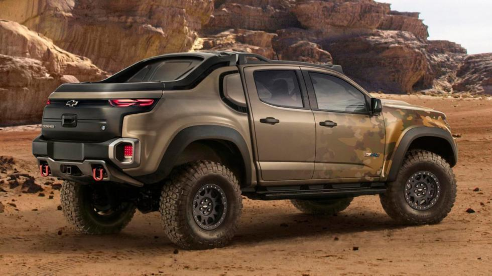 Chevrolet Colorado ZH2 zombie hidrogeno