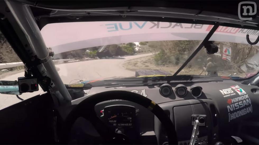 Chris Forsberg Nissan 370Z drift