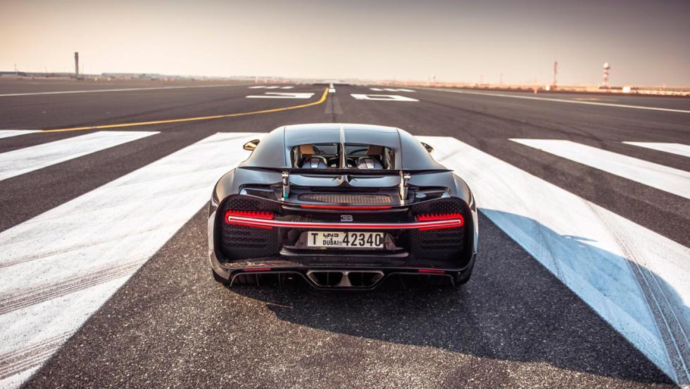 Chris Harris con el Bugatti Chiron (II)
