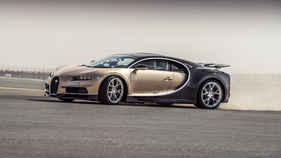 Chris Harris con el Bugatti Chiron (IX)