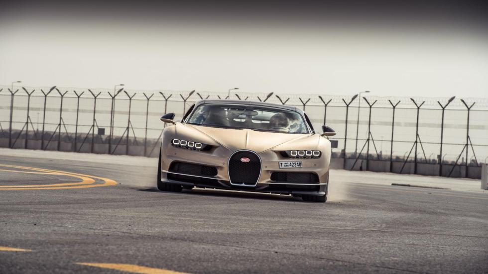 Chris Harris con el Bugatti Chiron (VI)